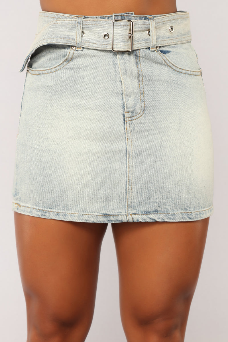 Denim Diva Skirt - Denim