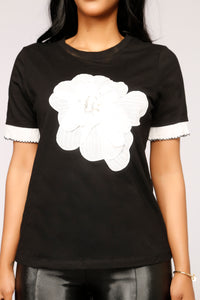 All About It Top - Black