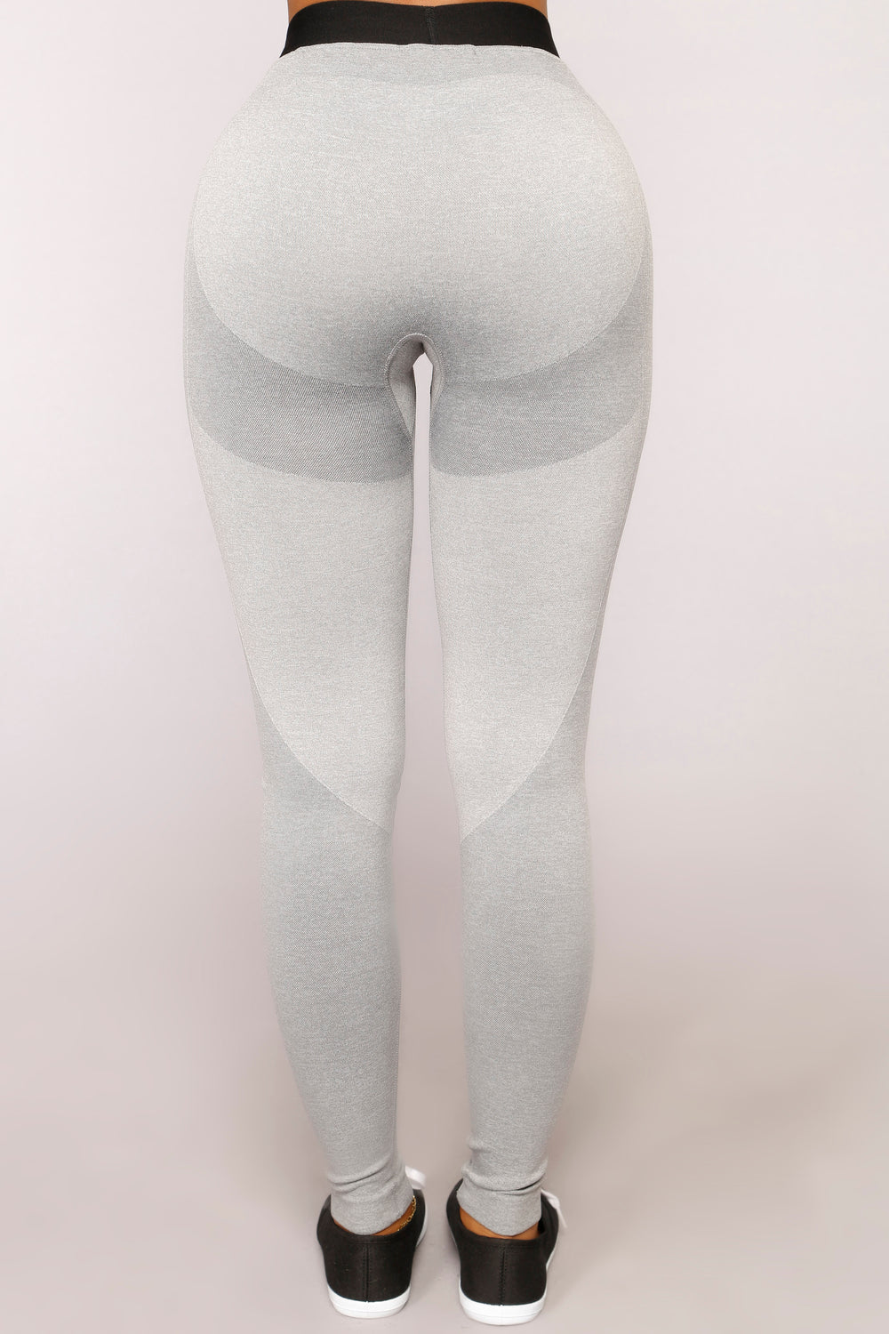 Win The Race Seamless Active Leggings - Grey