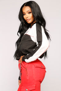 Stunt So Hard Active Jacket - Black/White
