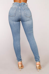 Sky High Skinny Jeans - Medium
