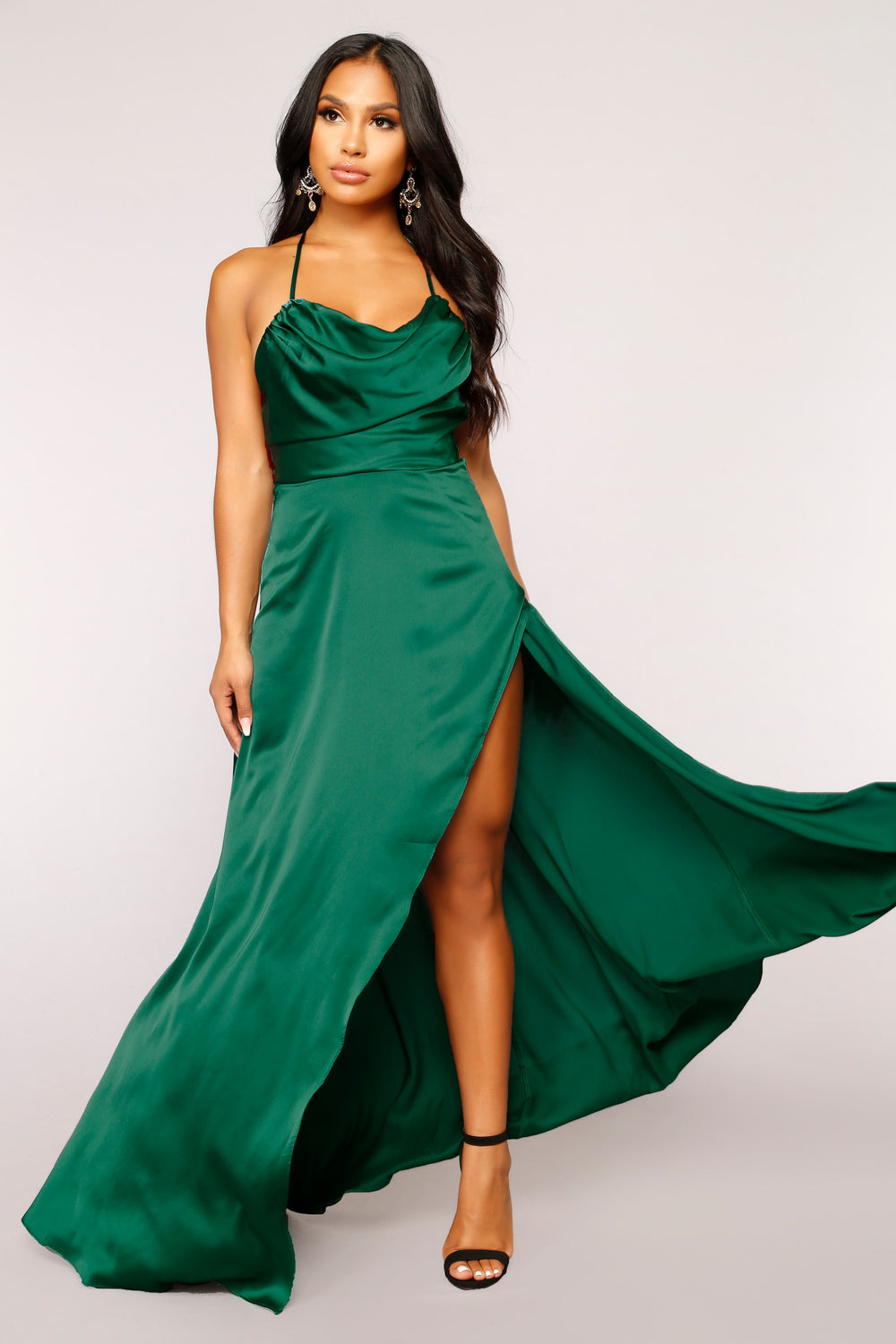 Rare Feeling Dress - Green