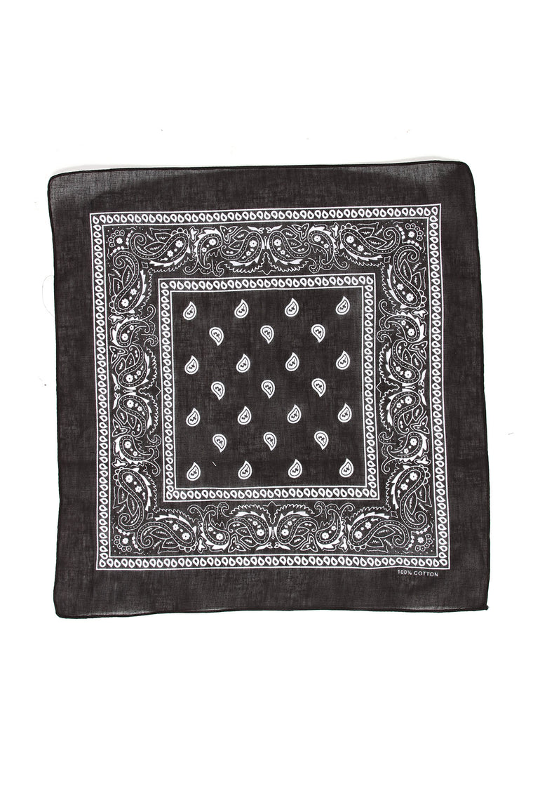 Castillo Square Bandana - Black