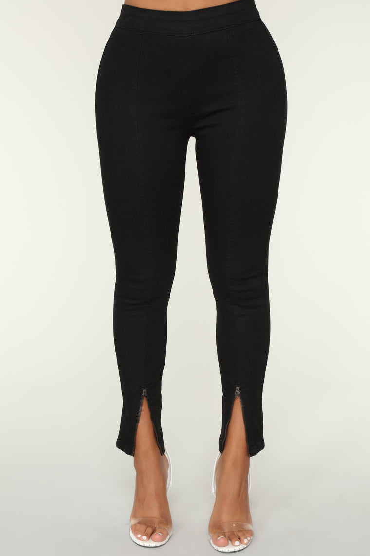 Your Way No Way Ankle Jeans - Black