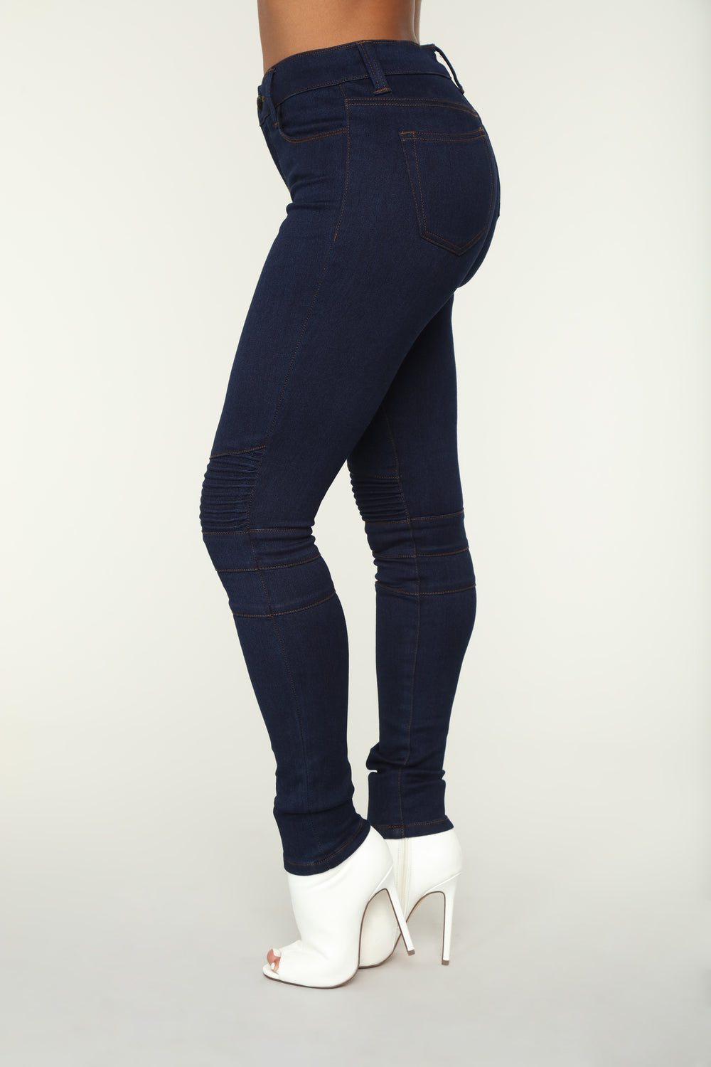 Making Moves Skinny Jeans - Dark Denim