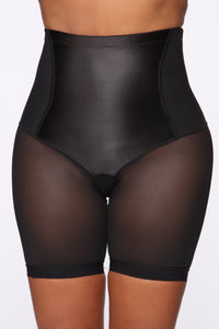 High As Ever Shapewear Short - Black Angle 1