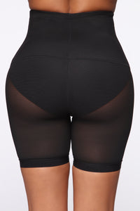 High As Ever Shapewear Short - Black Angle 3