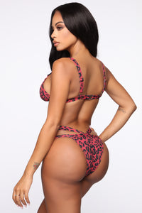 Meet Me At The Pool 2 Piece Swimsuit - Red/Combo