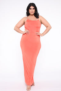Kiki Maxi Dress - Orange