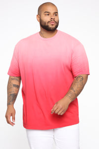 Came Through Dipping Short Sleeve Tee - Red Angle 6