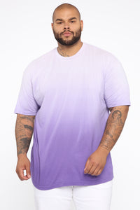 Came Through Dipping Short Sleeve Tee - Purple Angle 6