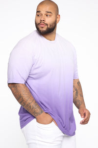 Came Through Dipping Short Sleeve Tee - Purple Angle 8