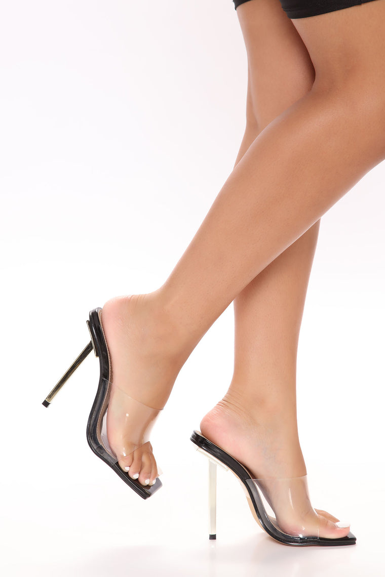 Pick Up The Pace Heels - Black