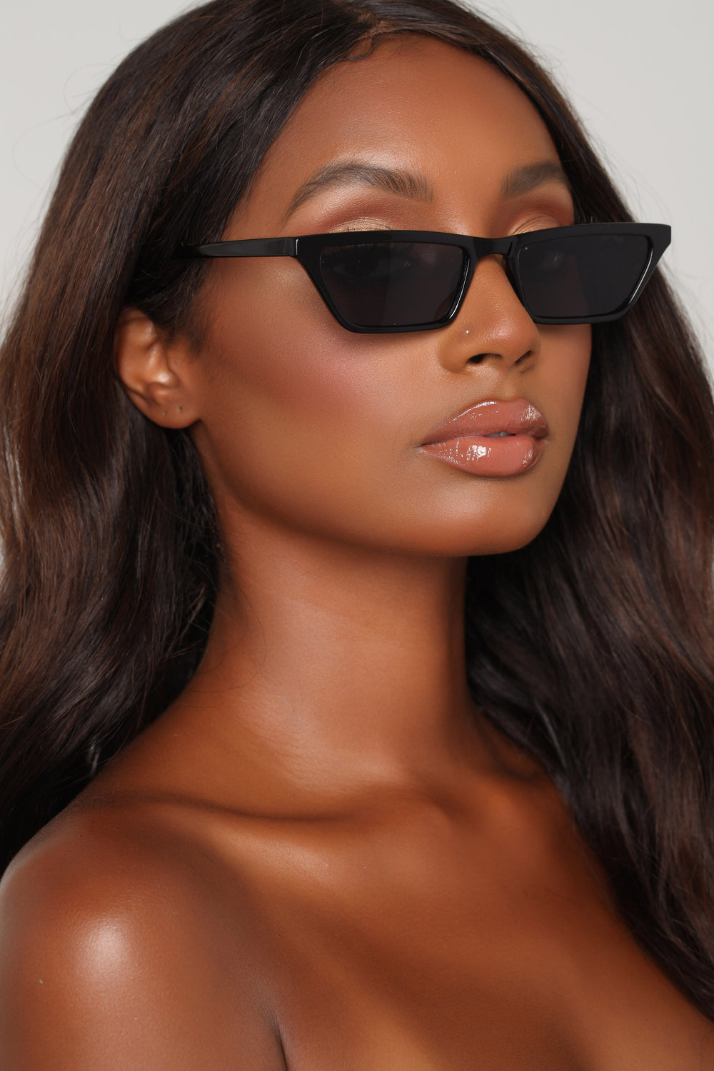 The Whiskers Sunglasses - Black
