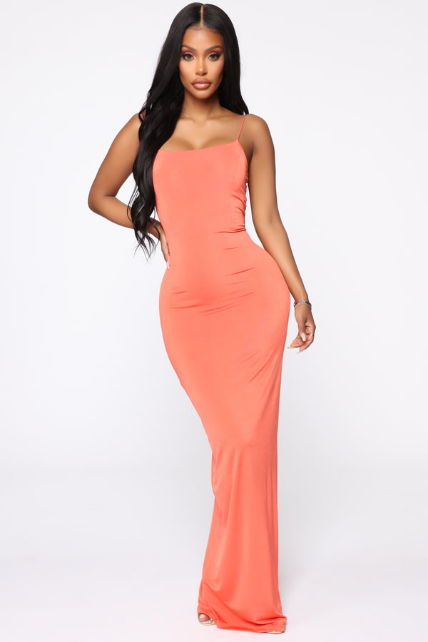 4e99205fee Kiki Maxi Dress - Orange