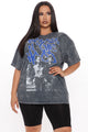 Boyz N The Hood Mineral Wash Top - Black Wash