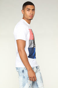 Liberty Short Sleeve Tee - White