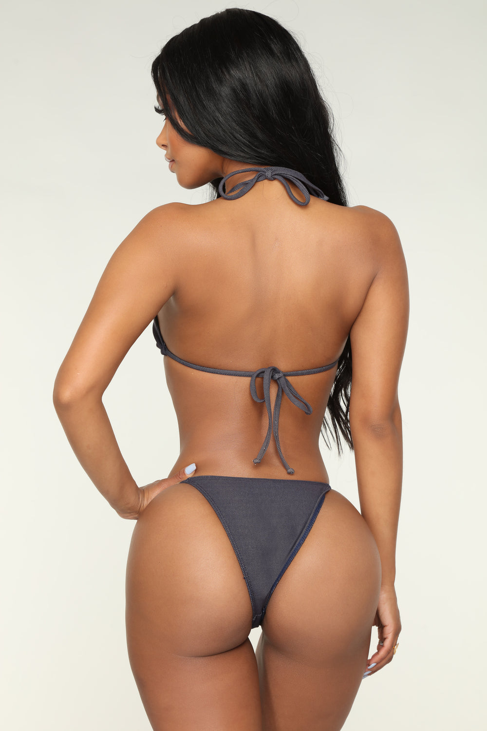 In The Moment Bikini - Denim
