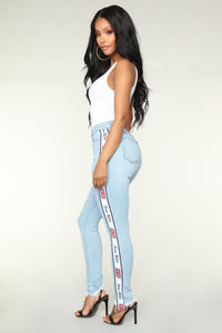 Daytona Skinny Jeans - Light Blue Wash