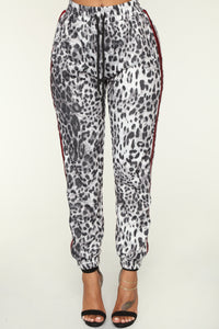 Animal Instincts Jogger - Grey