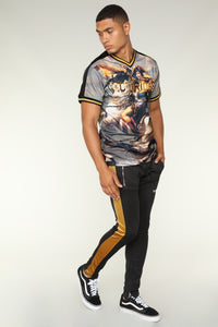 Strategy Short Sleeve Tee - Black/Gold