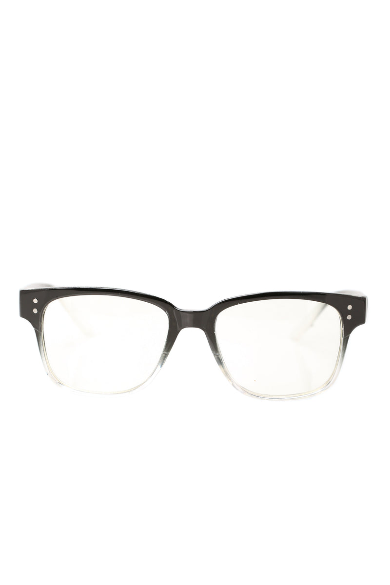 Spencer Sunglasses - Black/Clear