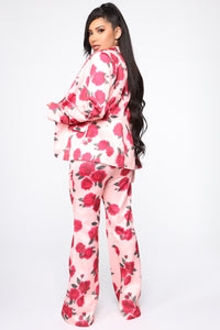 Big Dreams Floral 3 Piece Set - Pink/combo Angle 5