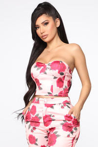 Big Dreams Floral 3 Piece Set - Pink/combo Angle 2