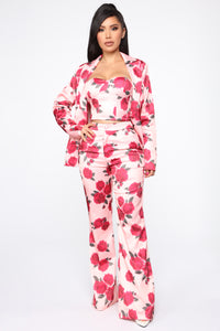 Big Dreams Floral 3 Piece Set - Pink/combo Angle 1