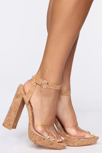 Truth Or Dare Heeled Sandals - Brown