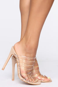 Something Like This Heeled Sandals - Nude