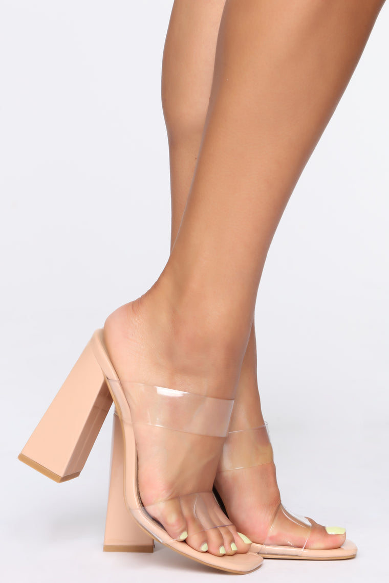 Prestigious Heeled Sandals - Nude