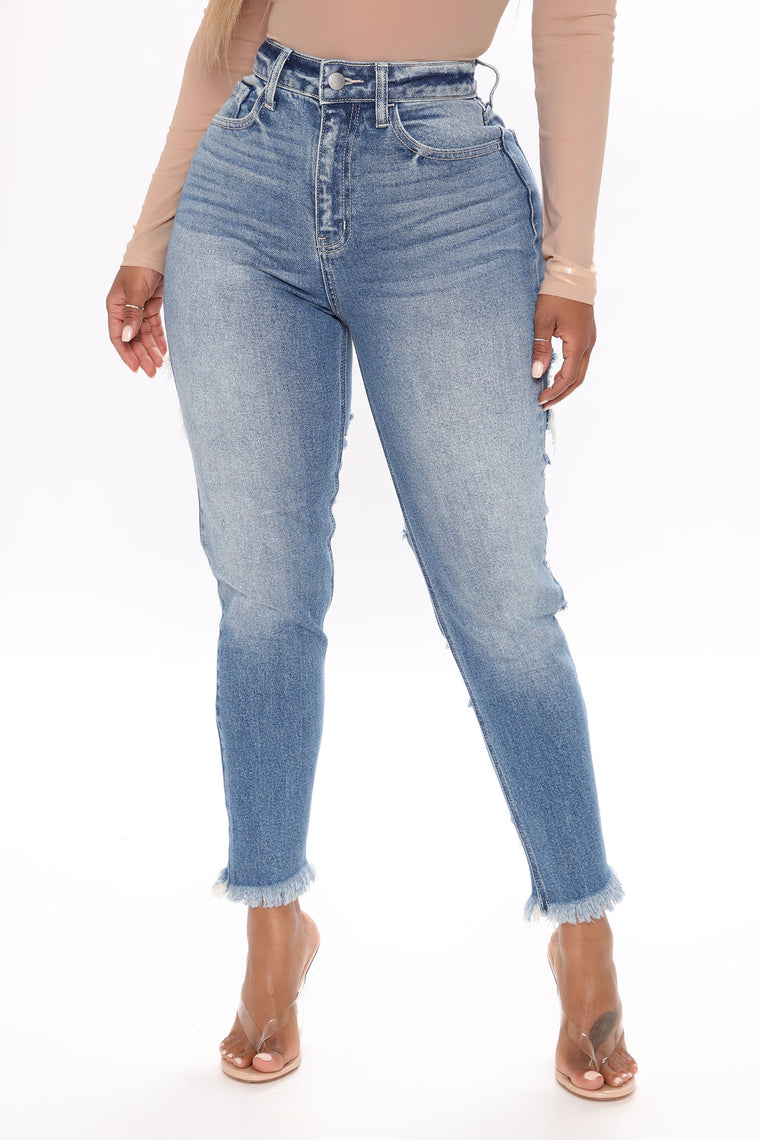 Distress With The Best Ankle Jeans - Light Blue Wash