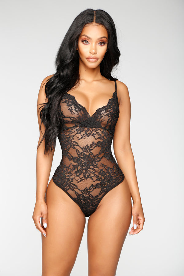 27863c6e88 Night After Night Bodysuit - Black