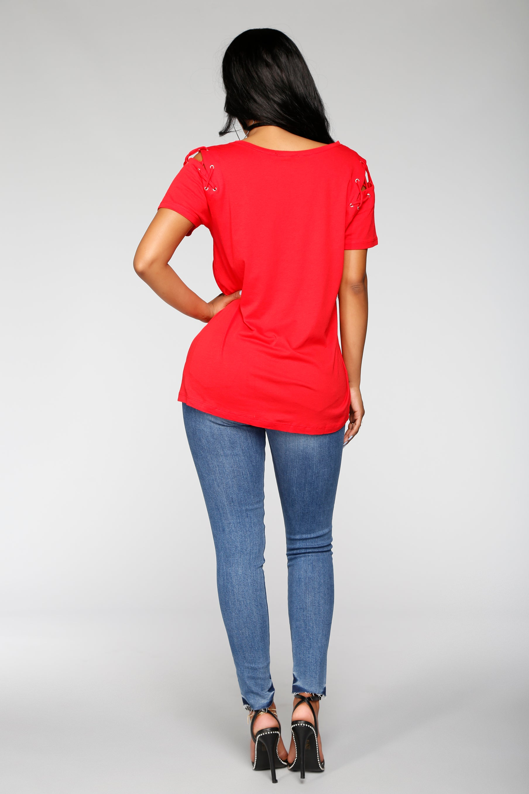 fa05fe713f00 Not So Basic Tee - Red