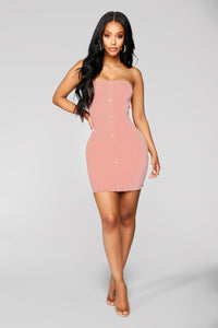 Joselyn Tube Dress - Pink