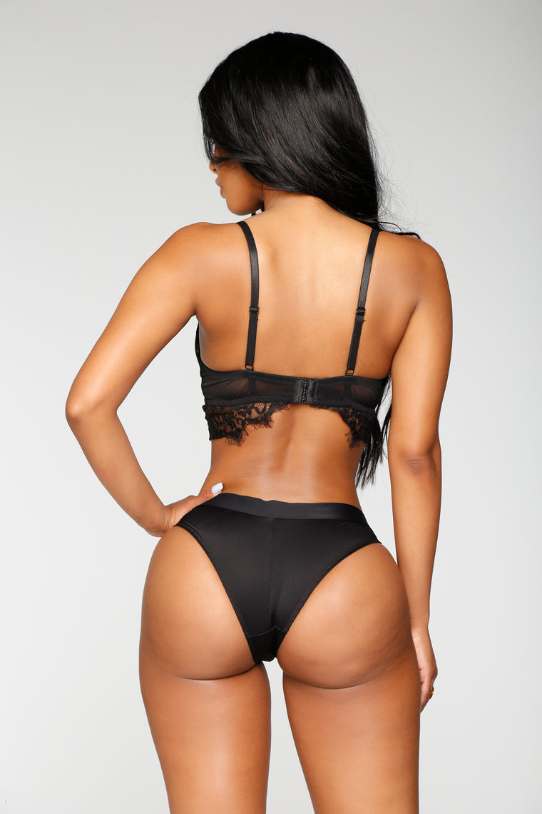 Confidently Sexy 2 Piece Set - Black