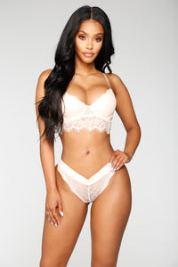 Confidently Sexy 2 Piece Set - Cream