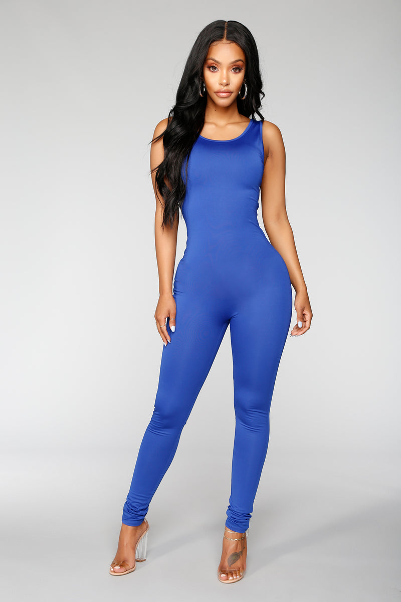 Nova Boost Jumpsuit - Royal