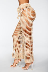 Greece Lover Coverup - Beige