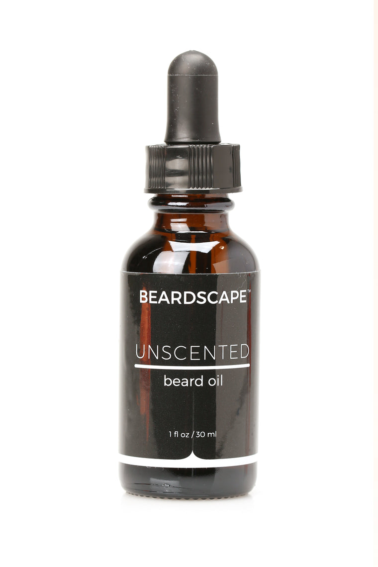 Unscented Beard Oil - White