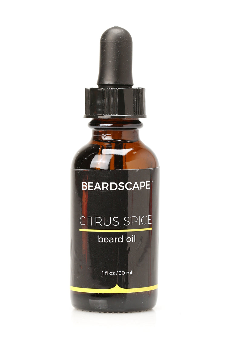 Citrus Spice Beard Oil - Yellow