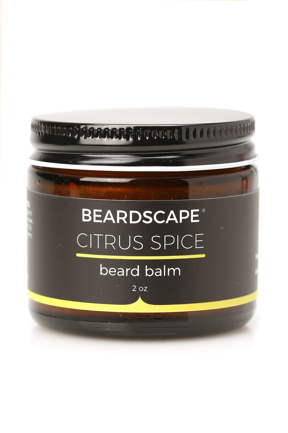 Citrus Spice Beard Balm - Yellow