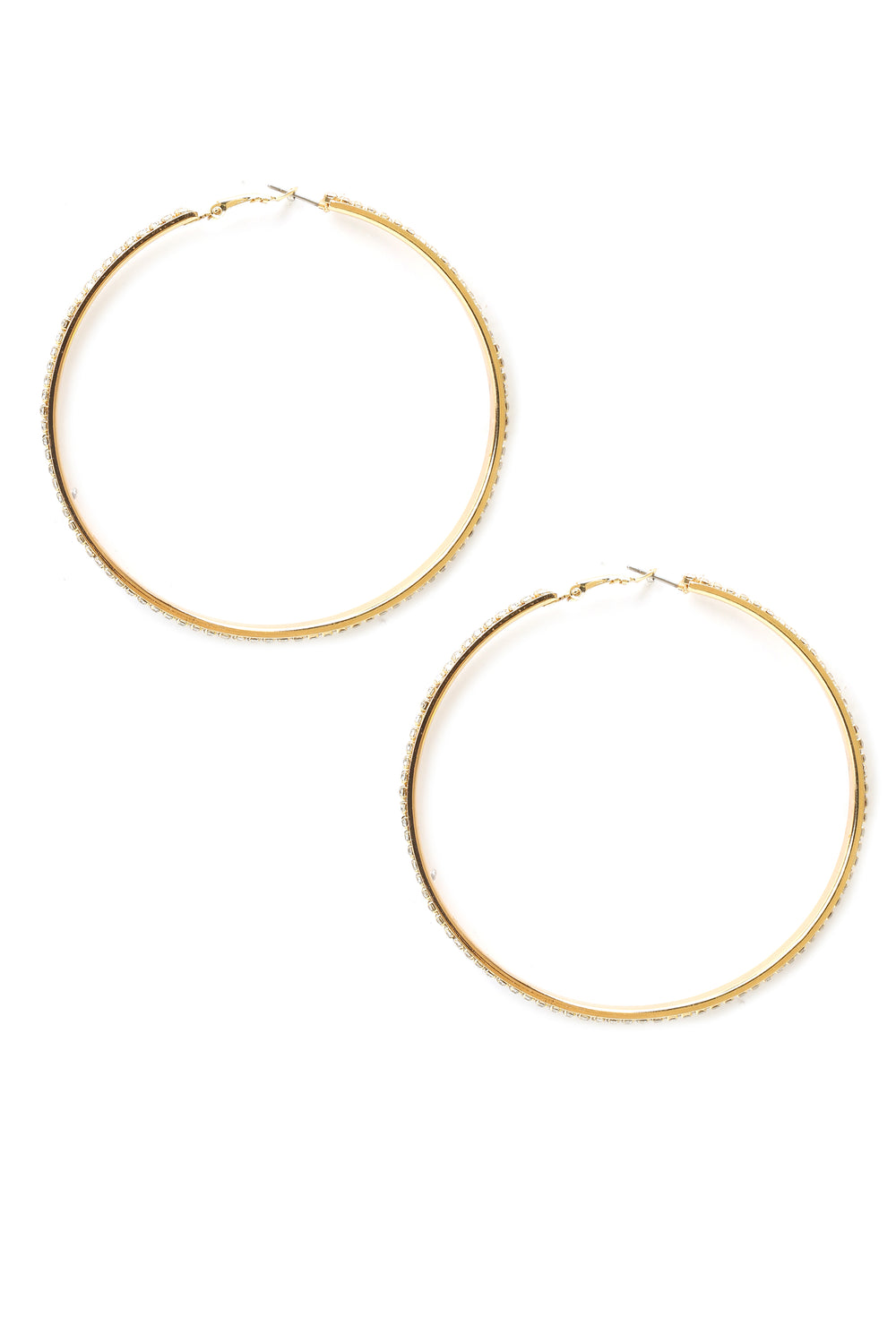 The Time To Shine Earrings - Gold