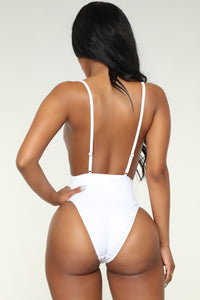 Sunburst II Swimsuit - White