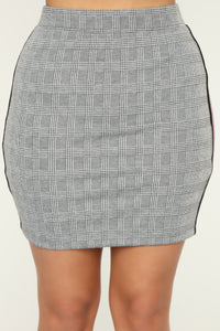 Moving Up Skirt - Grey