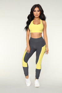 Cadence Lounge Set - Yellow