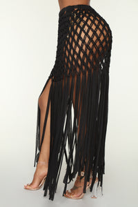 Venice Stroll Coverup - Black