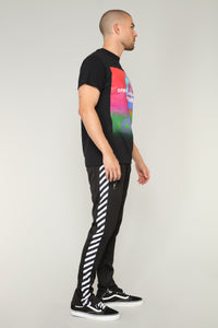 Dia Track Pants - Black