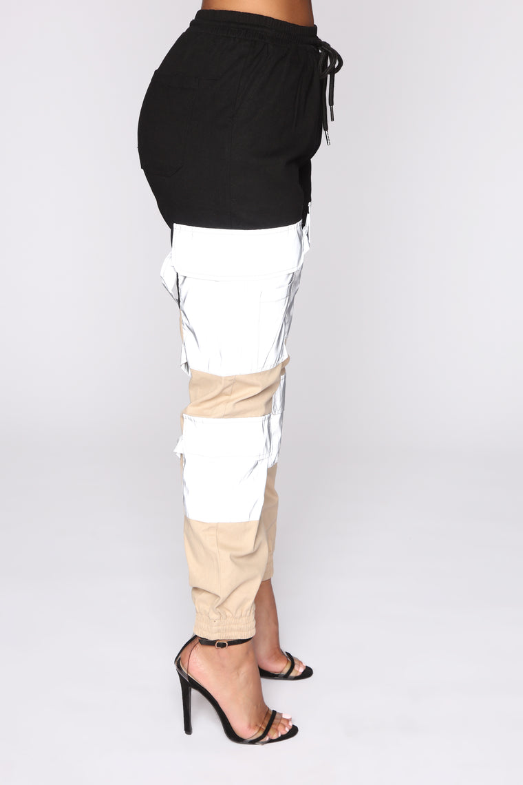 Block Party Cargo Joggers - Black/Combo
